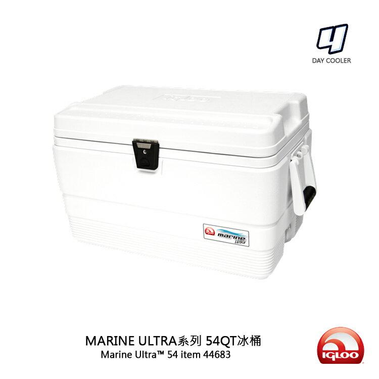 IgLoo MARINE UL系列四日鮮54QT冰桶 44683/城市綠洲(露營用品、冰桶、美國冰屋)