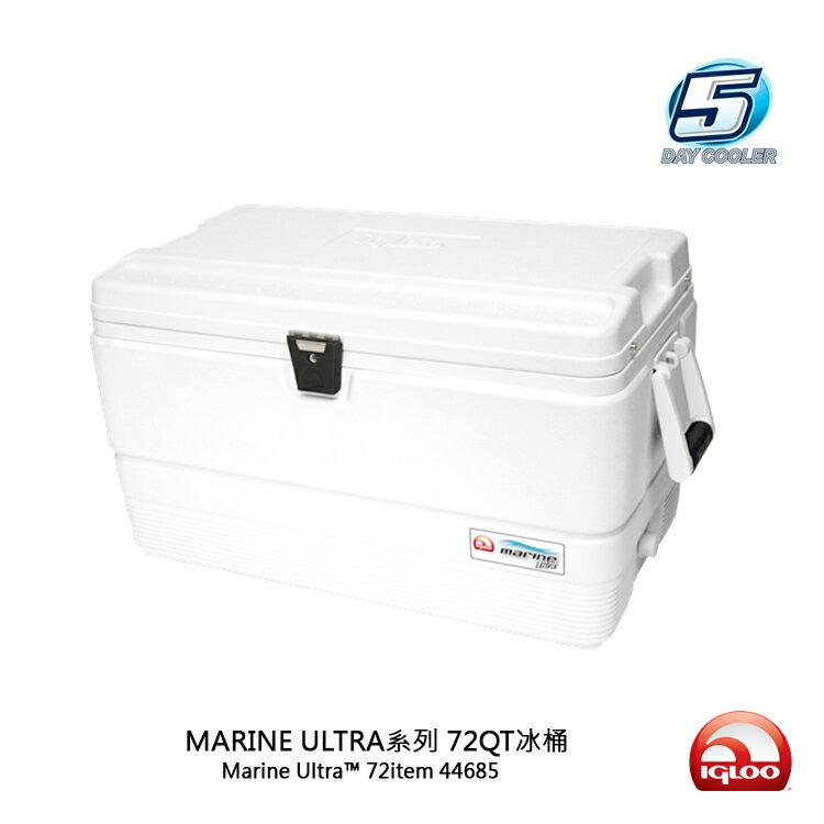 IgLoo MARINE UL系列五日鮮72QT冰桶 44685/城市綠洲(抗UV、露營用品、冰桶、美國冰屋)