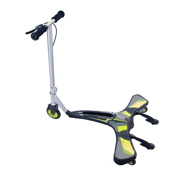 Jdbug COOL CARVER滑板車XF136 綠色/城市綠洲(滑步車、單車、腳踏車)