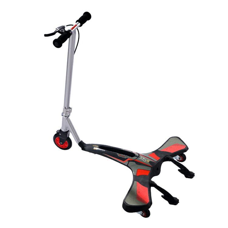 Jdbug COOL CARVER滑板車XF136 紅色 /城市綠洲(滑步車.單車.腳踏車)