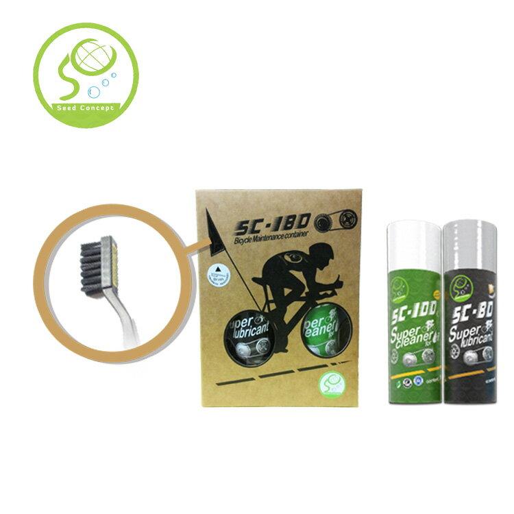 亞斯希 自行車清潔潤滑工具組 SC-180 / 城市綠洲 (自行車清潔保養.清潔保護)