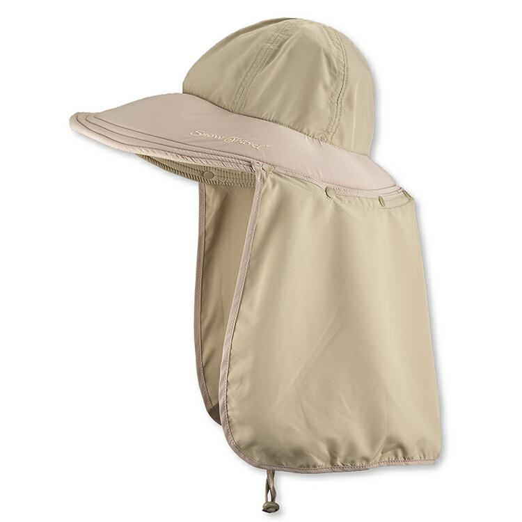 <br/><br/>  SNOW TRAVEL 抗UV護頸遮陽圓盤帽AH-10 /城市綠洲 (圓盤帽、遮陽帽、圓頂、抗UV紫外線)<br/><br/>