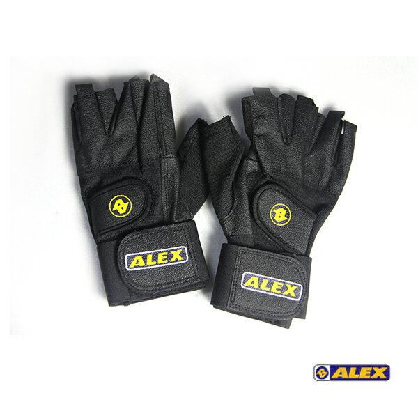 ALEX 皮革手套A-18 /城市綠洲 (訓練手套、重量、護手)