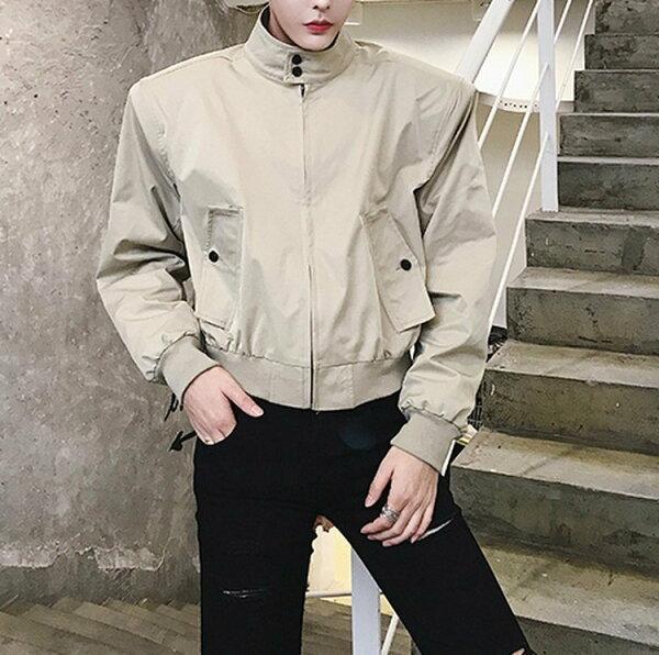 FINDSENSEG6韓國時尚休閒立領棒球服麵包服秋季冬季飛行員夾克男外套