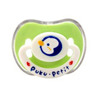 『121婦嬰用品館』PUKU 乳首型浮雕安撫奶嘴 較大 - 綠 0