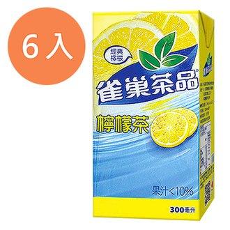 雀巢茶品 檸檬茶(經典檸檬) 300ml (6入)/組