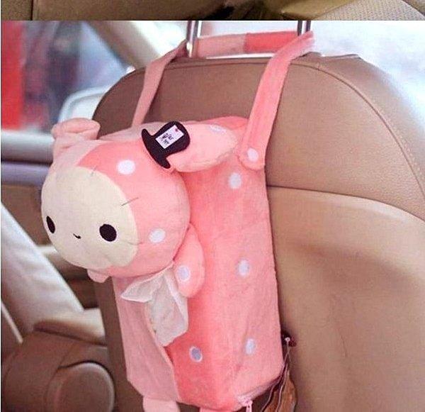 =優生活=憂傷馬戲團 憂憂兔面紙套 憂憂兔 可掛紙巾盒紙巾抽 車用面紙套