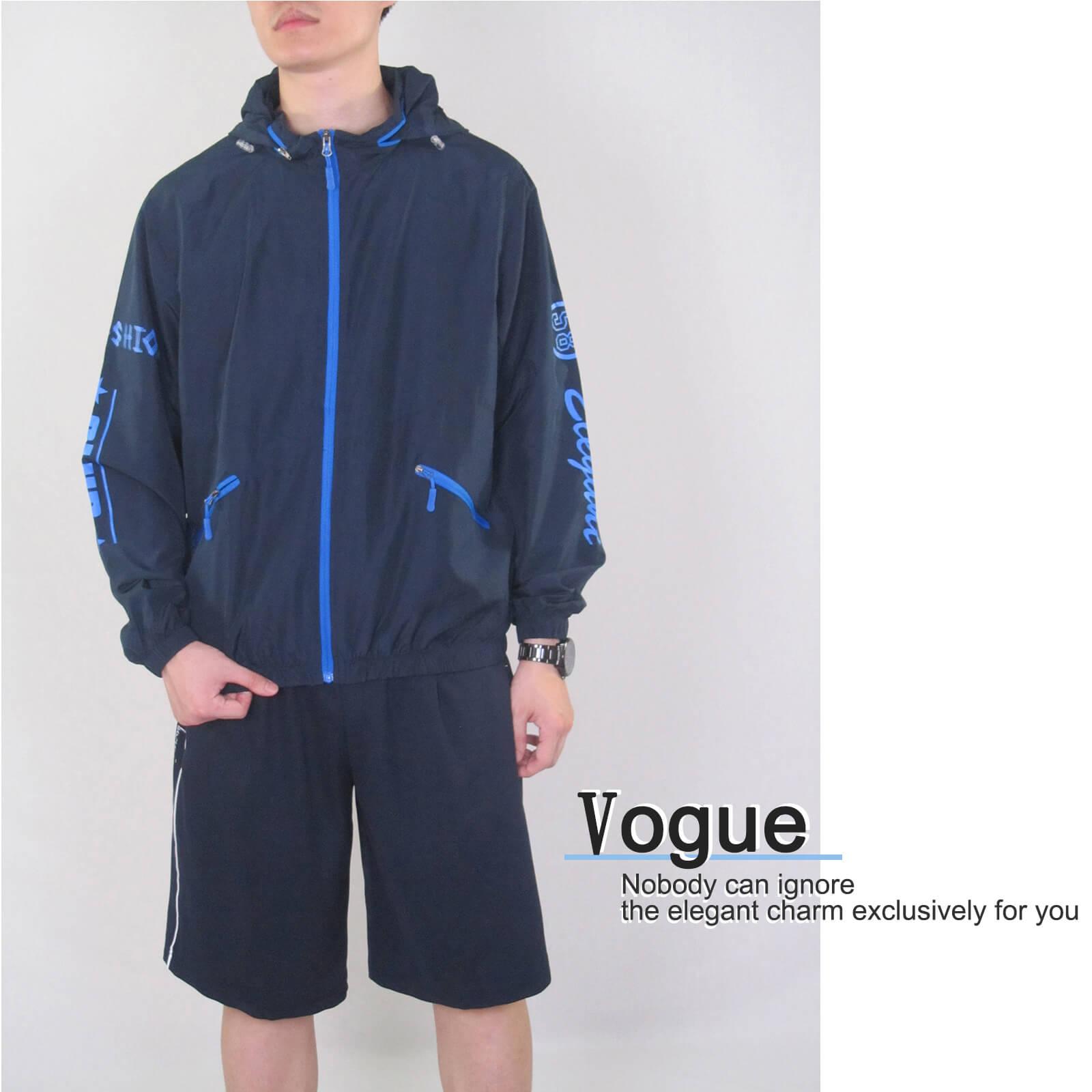 配色薄外套 遮陽防曬休閒外套 防風外套 運動暖身外套 風衣外套 JACKET (321-8878-01)螢光綠、(321-8878-02)深藍色、(321-8878-03)黑色 M L XL 2L(胸圍44~50英吋) [實體店面保障] sun-e 3