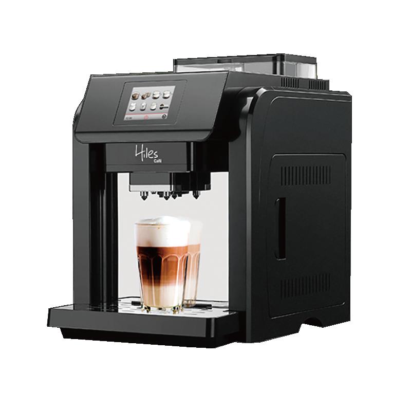 送咖啡豆【義大利Hiles全自動咖啡機】義式咖啡機 咖啡壺 磨豆機 咖啡杯 研磨咖啡機 美式咖啡機【AB244】 1