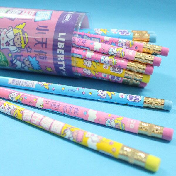利百代小天使2B 兒童 大三角鉛筆 筆擦 CB~202 學前鉛筆 MIT製  一筒36支入