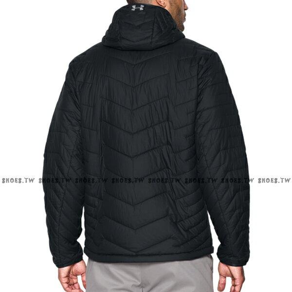 ★整點特賣★【1280824-001】UNDER ARMOUR UA服飾 連帽外套 羽絨外套 防風 防潑水 輕量 可收納 黑色 男生 2