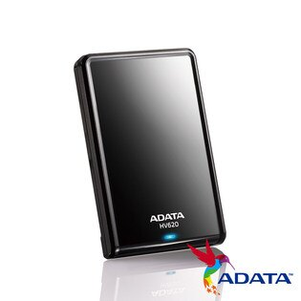JT3C:【最高折$350】ADATA威剛HV6201TB2.5吋USB3.0高速鏡面防撞耐刮黑色簡約行時尚硬碟