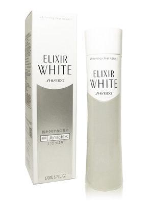 Shiseido 資生堂 ELIXIR WHITE 淨白肌密 柔膚水(清爽型) 170ml★BELLE 倍莉小舖★
