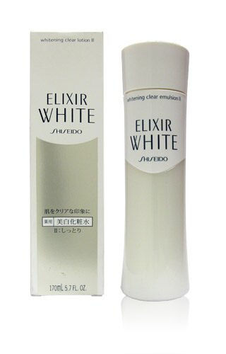 Shiseido 資生堂 ELIXIR WHITE 淨白肌密 柔膚水(滋潤型) 170ml★BELLE 倍莉小舖★