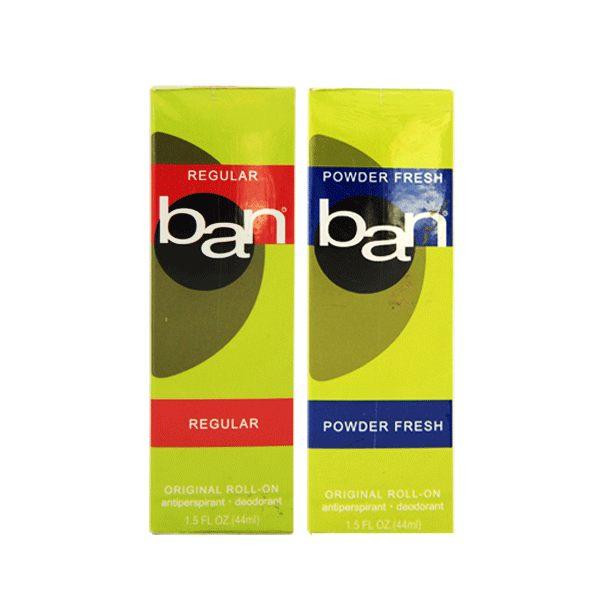BAN 盼 滾珠式 清新體香劑 44ml 兩款可選《Belle倍莉小舖》