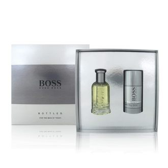 BOSS 自信男性淡香水禮盒(50ml+體香膏) 《Belle倍莉小舖》