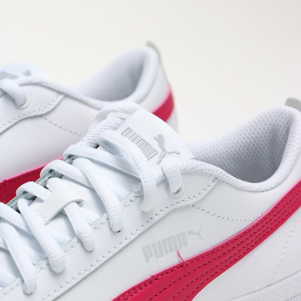 【滿$2500領券現折$350】PUMA SMASAH V2 白桃 基本款 皮革 休閒鞋 女 (布魯克林) 36520818