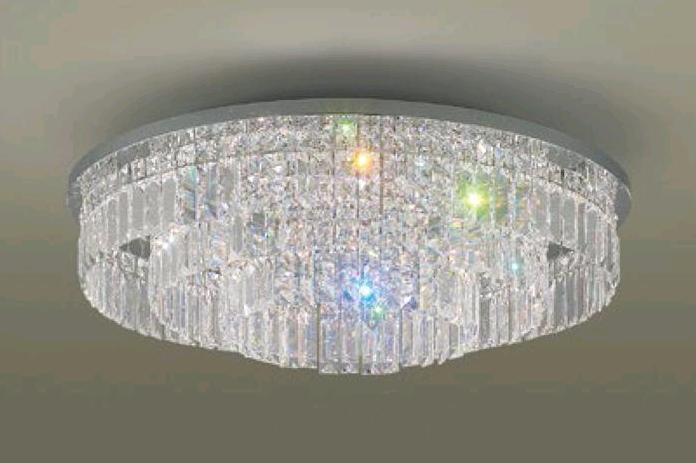 國際牌 ★LED 調光調色 遙控燈具 水晶燈 吸頂燈 65W 110V★永光照明HH-LAZ600309