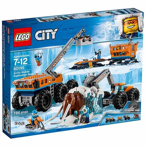 樂高積木LEGO《LT60195》2018年CITY城市系列-極地行動探險基地