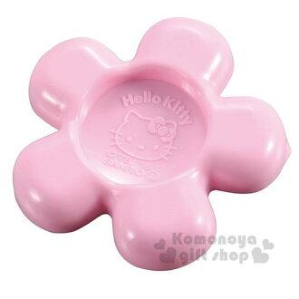 〔小禮堂〕Hello Kitty 花造型量匙《粉.大臉》