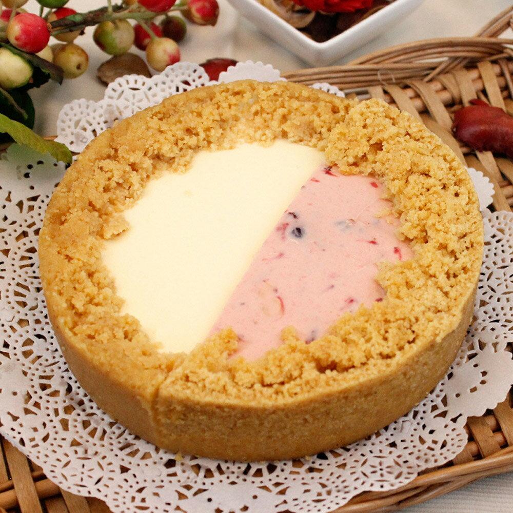 艾波索【幸福雙拼乳酪6吋系列】蘋果日報蛋糕評比冠軍 1
