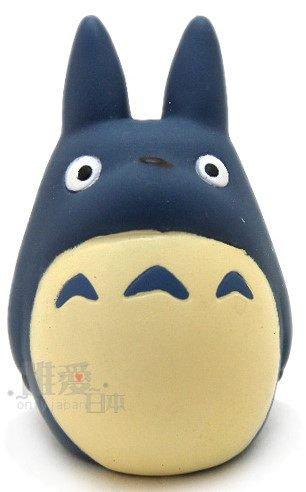 【真愛日本】10102700065 指套娃娃-藍龍貓  龍貓 TOTORO 豆豆龍 公仔 擺飾  收藏 正品 限量 預購