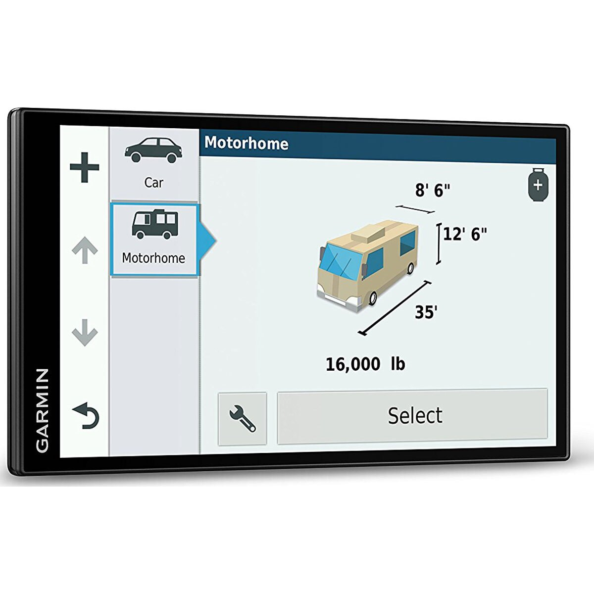 Garmin RV 770 NA LMT-S RV GPS Navigator for Camping w/ Dash Mount + Case  Bundle