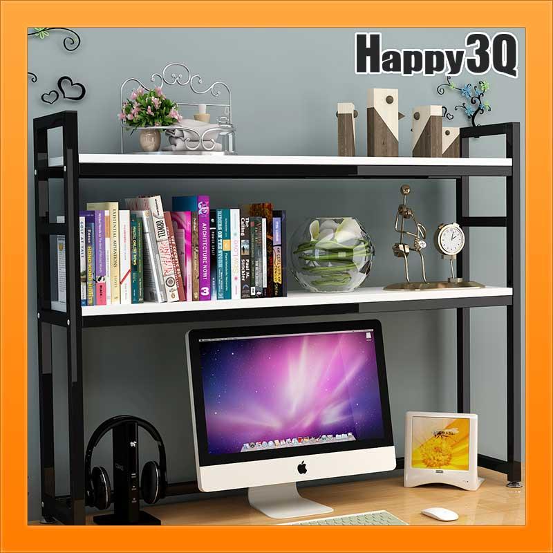 桌上置物架桌面收納架多層收納書架書櫃桌上架-黑/白/柚/楓/黑胡桃/淺胡桃【AAA3258】