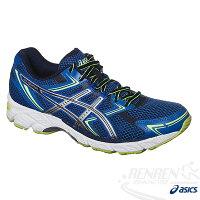 慢跑_路跑周邊商品推薦到ASICS亞瑟士 GEL-EQUATION 7 男健康慢跑鞋(藍)