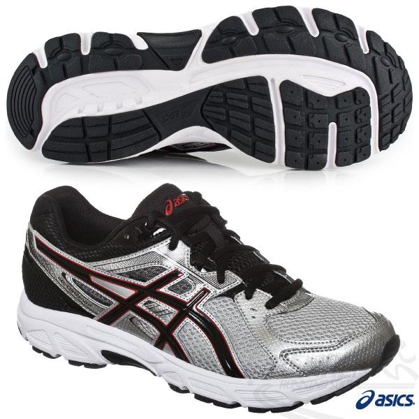ASICS亞瑟士 男慢跑鞋GEL-CONTEND 2 健康入門款(灰黑) 2015新品 短里程 緩衝性佳