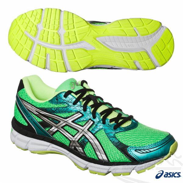 ASICS亞瑟士 男慢跑鞋GEL-OBERON 9健康入門款(森林綠) 2015新品 短里程 緩衝性佳
