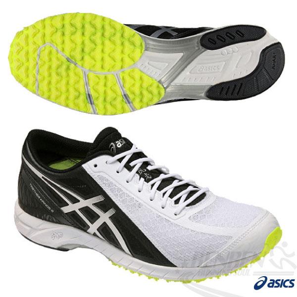 ASICS亞瑟士 虎走路跑鞋TARTHER KAINOS 2(白*黑) 超輕量透氣