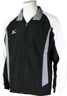 MIZUNO美津濃 平織運動外套(黑) 防風夾克