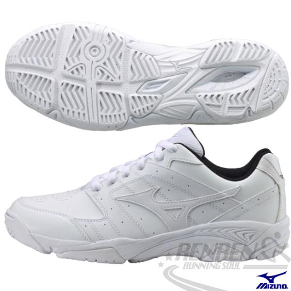 MIZUNO 美津濃 全白運動鞋 學生鞋 網球鞋TRAINING 開學季 2015新款