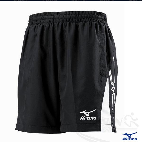 MIZUNO美津濃 平織網、羽、桌球短褲(黑/XL),經典賽贊助品牌。58DF-05709