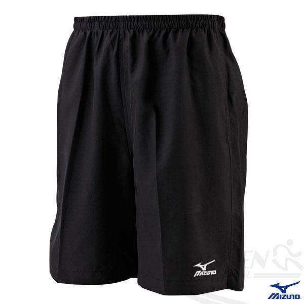 MIZUNO 美津濃 路跑褲(黑) 背部口袋運動短褲 五分運動短褲