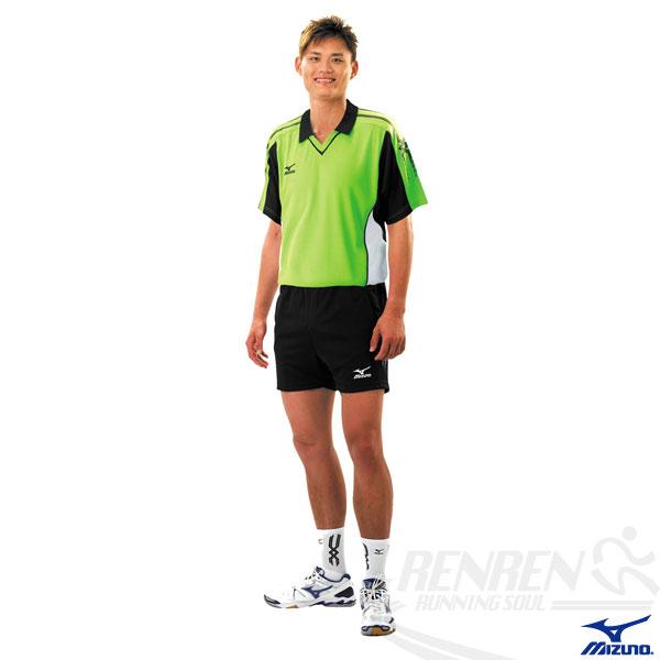 MIZUNO美津濃排球衣(綠M.2XL.3XL) 快速排汗速乾,抗UV,亦可做為運動用排汗衣。59SV-15235