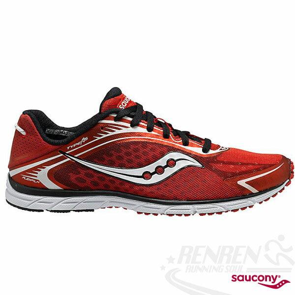 SAUCONY Grid Type A5 輕量路跑鞋(紅) 三鐵鞋 馬拉松.鐵人三項適用 SY20144-4