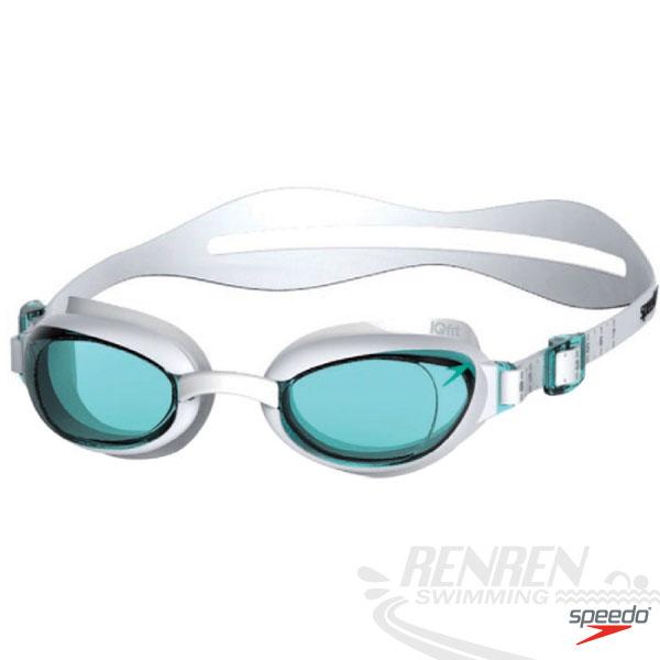 SPEEDO 成人女用進階泳鏡Aquapure(二色) IQ Fit人體工學鏡框SD809008