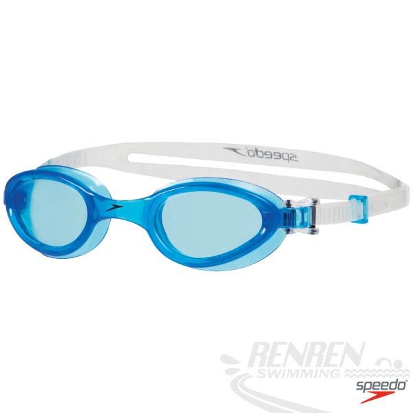 SPEEDO 成人基礎型泳鏡(藍)Futura One SD8090136817A