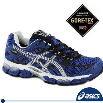 免運ASICS亞瑟士 G-TX GORE-TEX 緩衝型防水越野慢跑鞋,全台首賣 。T3C4N-5093