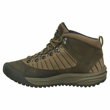TEVA 女款Forge中筒防水皮革登山鞋.越野鞋(咖啡) 免運。TV4073BRN