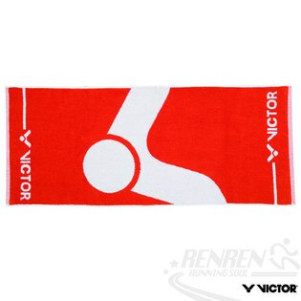 VICTOR勝利MIT運動毛巾(紅)100%純棉毛巾