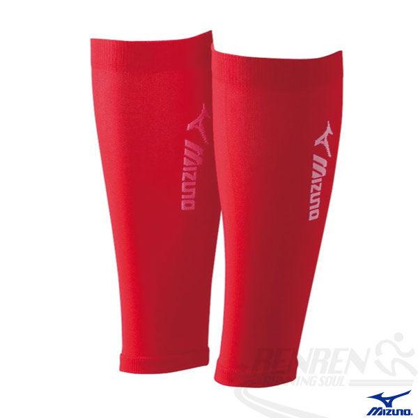 MIZUNO 美津濃 日本製BIO GEAR護小腿套(紅)