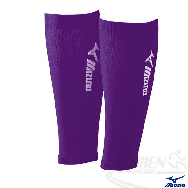 MIZUNO 美津濃 日製BIO GEAR護小腿套(紫) A60BU-01067