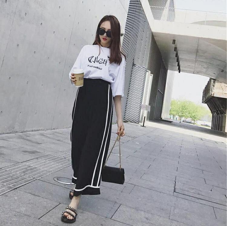 閨蜜裝夏季套裝韓版姐妹學生2021百搭兩件套學院風洋氣女潮運動服【顧家家】