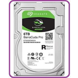 Seagate新梭魚BarraCuda Pro 6TB 3.5吋桌上型硬碟(ST6000DM004)
