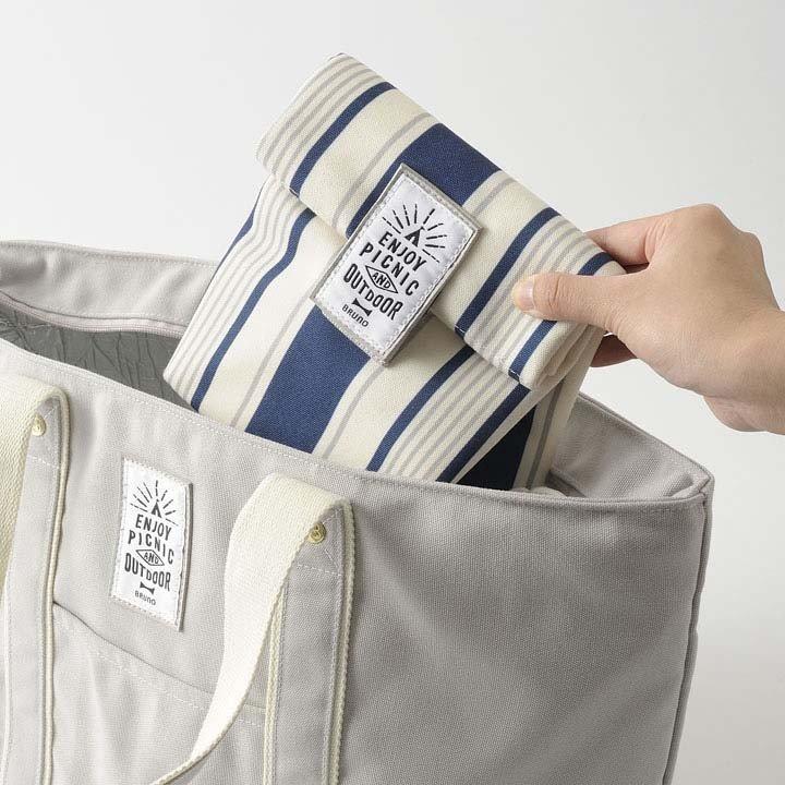 滿千折百【日本BRUNO】野趣多用途保溫保冷袋BHK107 公司貨