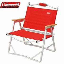 [ Coleman ] 輕薄摺疊椅 紅 / 休閒椅 / 公司貨 CM-7670