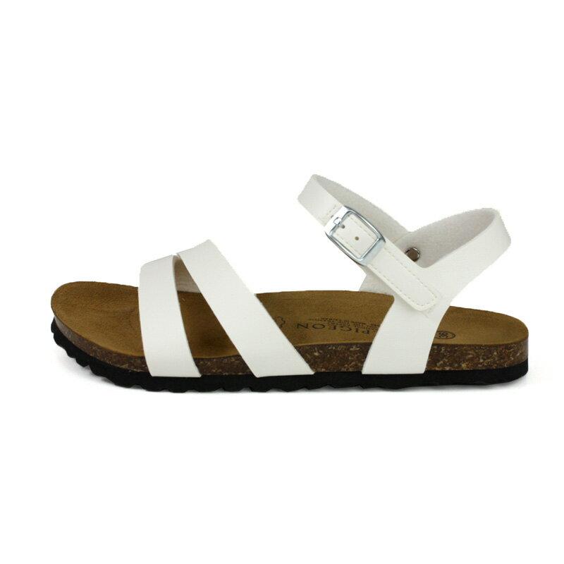 G.P 阿亮代言 涼鞋 勃肯鞋型 女鞋 白色 W713-80 no384 5